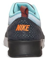 Nike - Blue Women'S Air Max Thea Print Running Sneakers From Finish Line - Lyst