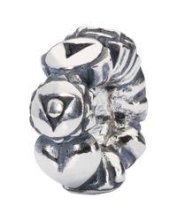 Trollbeads | Metallic Sterling Silver Chakras Bead | Lyst
