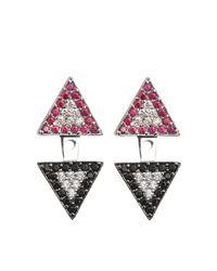 Joanna Laura Constantine | Metallic Earjacket Americana Earrings | Lyst