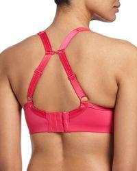 Chantelle - Pink High Impact Contour Sports Bra - Lyst