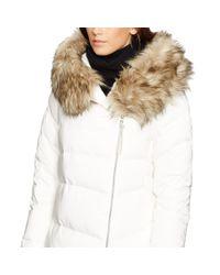 Polo Ralph Lauren - Natural Detachable-hood Down Coat - Lyst