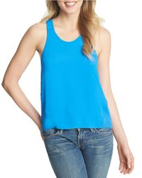 1.STATE | Blue Pullover Tank | Lyst