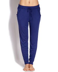 Forever 21 | Blue Forever Comfy Pj Pants You've Been Added To The Waitlist | Lyst