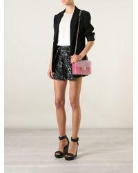 Designinverso - Red Taormina Quilted Shoulder Bag - Lyst