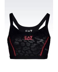 EA7 | Black Top | Lyst