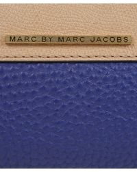 Marc By Marc Jacobs - Blue Sheltered Island Ziparound Purse - Lyst