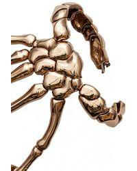 Bernard Delettrez | Metallic Skeleton Full Hand Bracelet | Lyst