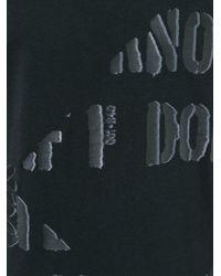 Diesel Black Gold - Black 'taiciy' Print T-shirt for Men - Lyst