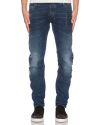 G-Star RAW | Blue Arc 3d Slim Selekt Stretch Denim for Men | Lyst