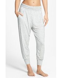 DKNY | Gray 'citi Essentials' Capris | Lyst