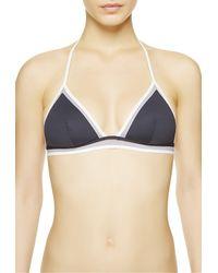 La Perla | Blue Triangle Bikini Top | Lyst