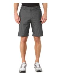 Adidas | Black Stretch Horizontal Texture Stripe Shorts for Men | Lyst