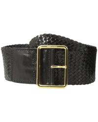 Cole Haan - Black 63mm Woven Goat Braid - Lyst