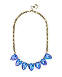 BaubleBar - Petite Pip Strand-blue/antique Gold - Lyst