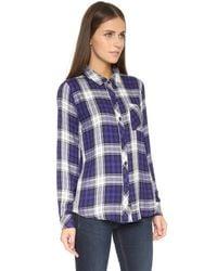 Rails - Purple Hunter Plaid Long-sleeve Shirt - Lyst