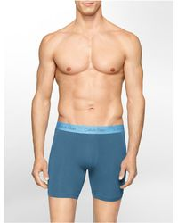 Calvin Klein - Blue Underwear Body Modal Boxer Brief for Men - Lyst