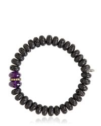 Ocnarf Sairutsa | Metallic Rock And Raw Bracelet | Lyst