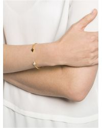 BaubleBar - Metallic Asymmetrical Ice Arrow Cuff - Lyst