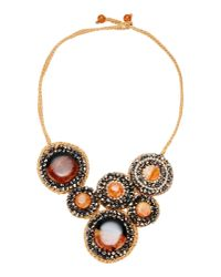 First People First - Orange Necklace - Lyst