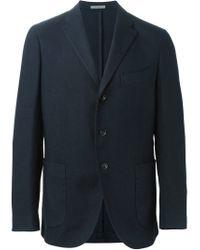 Boglioli - Blue Patch Pockets Blazer for Men - Lyst