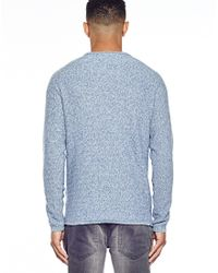 SELECTED - Blue Vince Crew Neck I for Men - Lyst