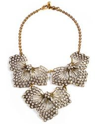 Lulu Frost | White Cactus Flower Statement Necklace | Lyst
