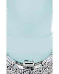 Paul Morelli | Blue Oval Window Baguette Ring | Lyst