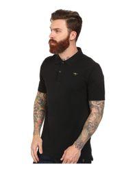 G-Star RAW - Black Nuelik Short Sleeve Polo T-shirt for Men - Lyst