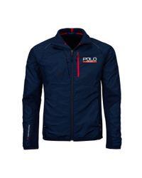 Ralph Lauren - Blue Hybrid Tech Jacket for Men - Lyst