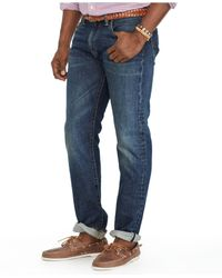 Polo Ralph Lauren - Blue Big And Tall Hamilton-wash Jeans for Men - Lyst