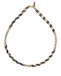 Isabel Marant - Black and White Kimpatsu Fish Necklace - Lyst