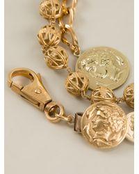 Dolce & Gabbana - Metallic Beaded Bracelet - Lyst
