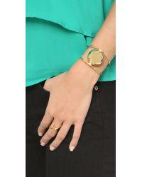 Elizabeth and James - Metallic Knox Cuff Bracelet - Lyst