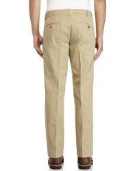 Izod - Natural Saltwater Slim Fit Pants for Men - Lyst