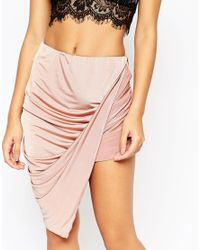 ASOS | Pink Slinky Skort | Lyst