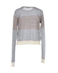 Le Mont St Michel | Gray Sweater | Lyst