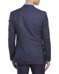 Moods Of Norway - Blue Rolf Tonning Plaid Jacket for Men - Lyst