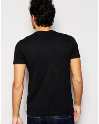 Hilfiger Denim | T-shirt With Logo Print In Black for Men | Lyst