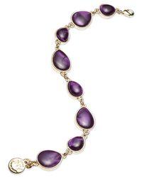 Jones New York | Purple Teardrop Stone Flex Bracelet | Lyst