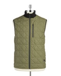 Victorinox | Green Quilted Vest for Men | Lyst