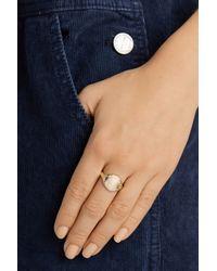 Scosha - Metallic 10-Karat Gold Diamond Ring - Lyst