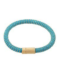 Carolina Bucci | Blue Twister Band Bracelet | Lyst