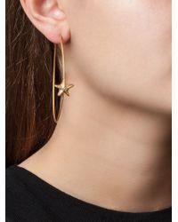 Valentino - Metallic Sea Star Earrings - Lyst