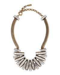 Auden | Metallic Stella Crystal Statement Necklace | Lyst