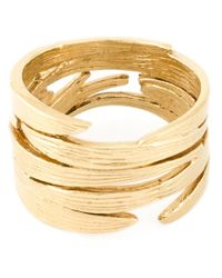 Wouters & Hendrix - Metallic 'Bamboo' Ring - Lyst