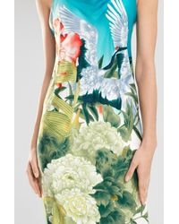 Natori | Green Birds Of Paradise Gown | Lyst