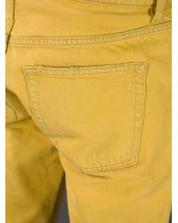 Acne | Yellow Vega Slim Fit Jean for Men | Lyst