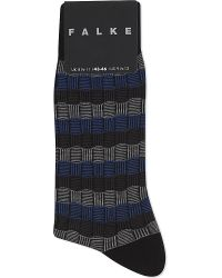 Falke | Woven Cotton Socks, Men's, Black for Men | Lyst