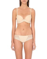 Wacoal | Natural La Femme Jersey Underwired Contour Bra | Lyst