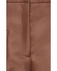 N°21 - Brown Patrizia Cropped Pant - Lyst